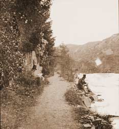 Old photo of Ness Glen